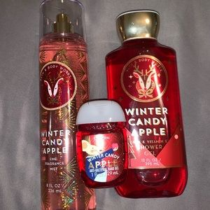 Bath and body works/ winter candy apple fragrance.